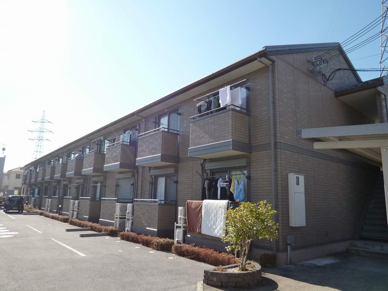 滋賀県彦根市、南彦根駅徒歩22分の築11年 2階建の賃貸アパート