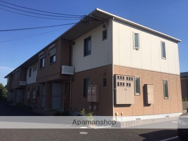 滋賀県東近江市、五箇荘駅徒歩17分の築7年 2階建の賃貸アパート
