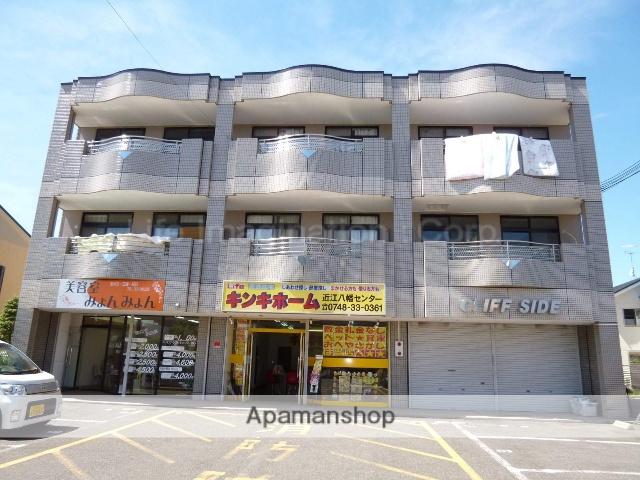 滋賀県近江八幡市、安土駅徒歩41分の築17年 3階建の賃貸マンション