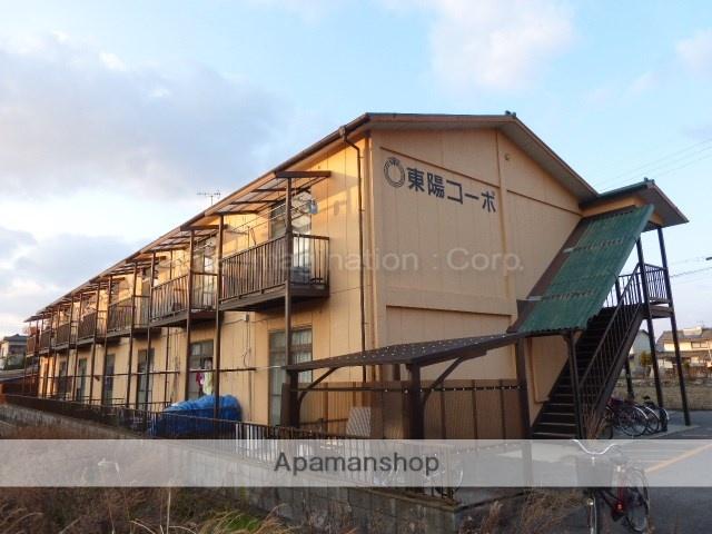 滋賀県東近江市、能登川駅徒歩9分の築32年 2階建の賃貸アパート