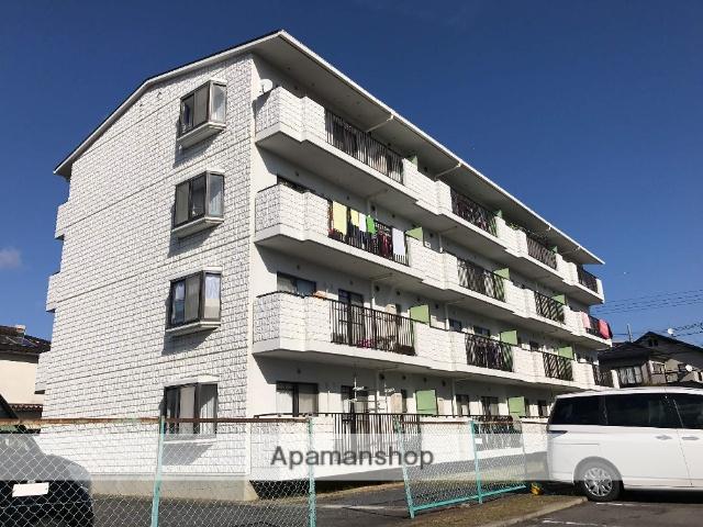 滋賀県近江八幡市、近江八幡駅徒歩10分の築25年 4階建の賃貸マンション