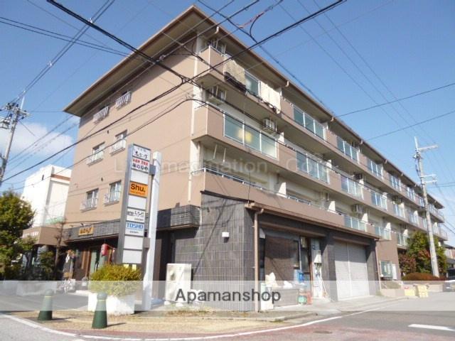 滋賀県近江八幡市、能登川駅徒歩172分の築26年 4階建の賃貸マンション