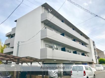 滋賀県湖南市、三雲駅徒歩55分の築29年 4階建の賃貸マンション