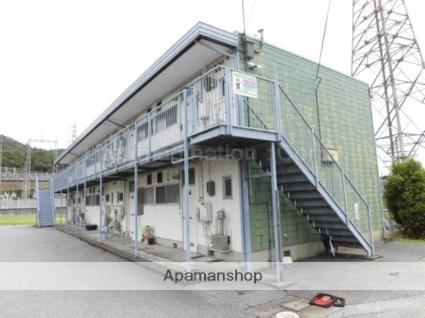 滋賀県彦根市、彦根駅徒歩20分の築35年 2階建の賃貸アパート