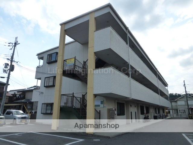 滋賀県湖南市、三雲駅徒歩91分の築19年 3階建の賃貸マンション