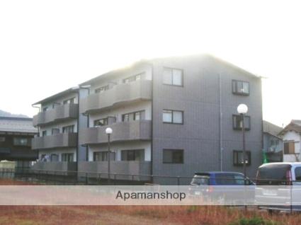 滋賀県東近江市、稲枝駅徒歩61分の築25年 3階建の賃貸マンション
