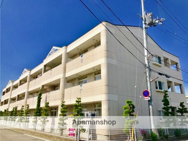 滋賀県近江八幡市、近江八幡駅徒歩15分の築20年 3階建の賃貸マンション