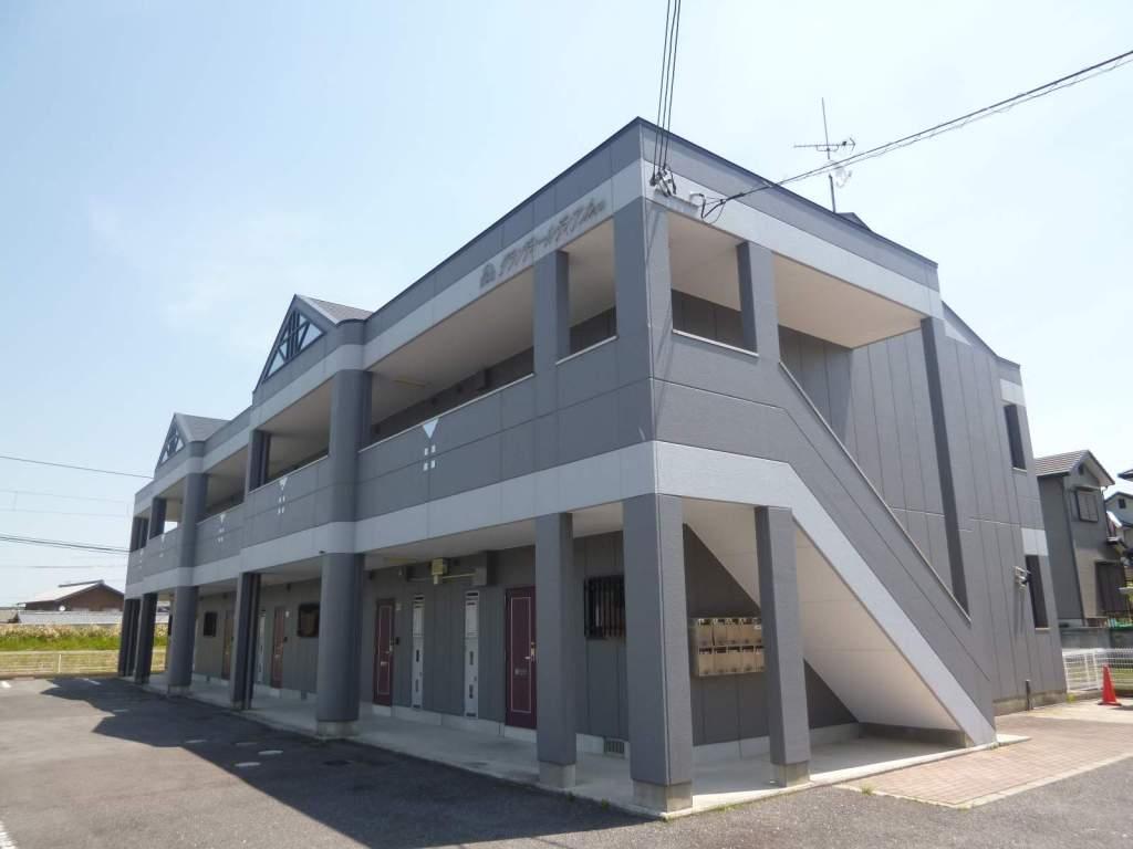 滋賀県湖南市、三雲駅徒歩14分の築18年 2階建の賃貸マンション