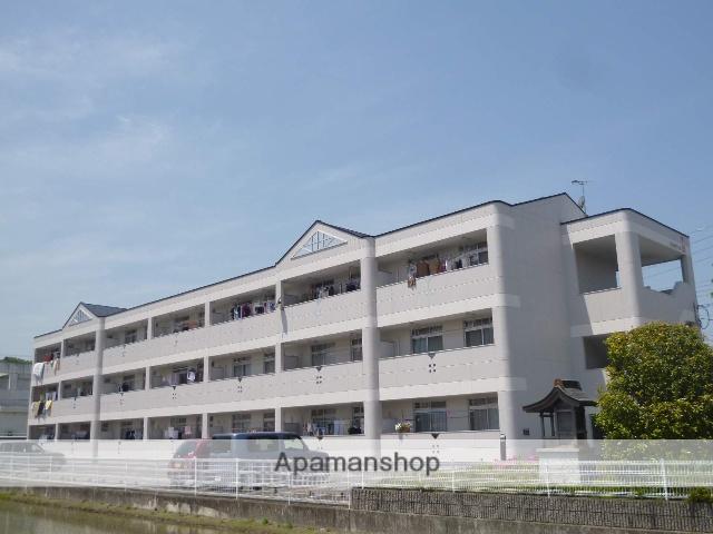 滋賀県湖南市、三雲駅徒歩12分の築20年 3階建の賃貸マンション