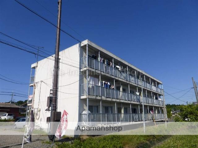 滋賀県甲賀市、貴生川駅JRバスバス20分名坂日電前下車後徒歩7分の築28年 3階建の賃貸マンション
