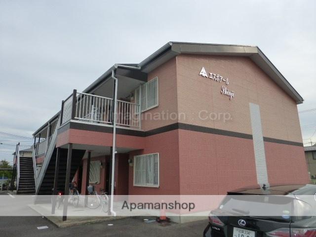 滋賀県甲賀市、甲南駅徒歩15分の築18年 2階建の賃貸アパート