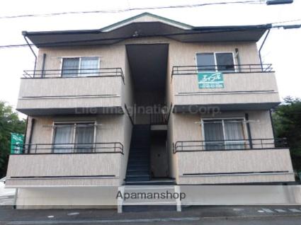 滋賀県甲賀市、貴生川駅滋賀交通バスバス15分菅谷南下車後徒歩8分の築9年 2階建の賃貸アパート