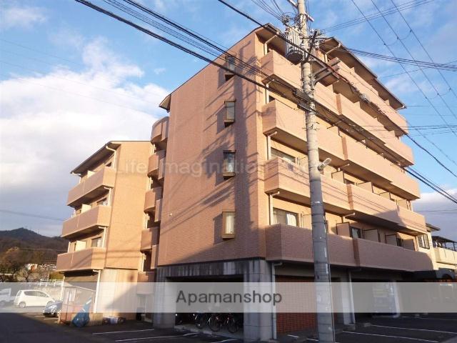 滋賀県湖南市、三雲駅徒歩52分の築18年 6階建の賃貸マンション