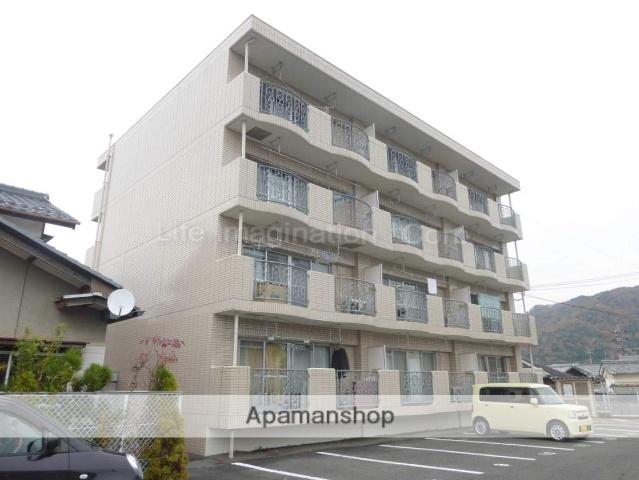 滋賀県甲賀市、信楽駅徒歩10分の築21年 4階建の賃貸マンション