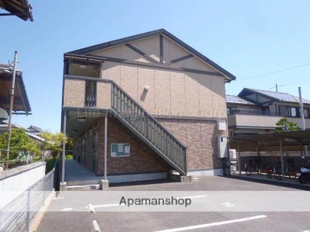 滋賀県甲賀市、貴生川駅はーとバスバス8分宮の前下車後徒歩4分の築12年 2階建の賃貸アパート