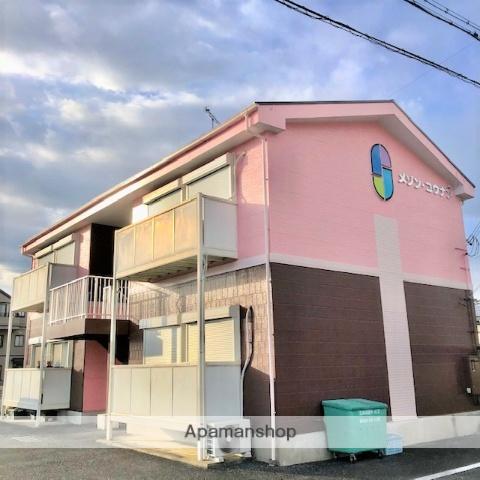 滋賀県甲賀市、甲南駅徒歩10分の築21年 2階建の賃貸アパート