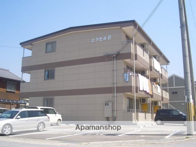 滋賀県東近江市、京セラ前駅徒歩30分の築11年 3階建の賃貸マンション