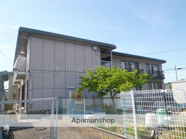 滋賀県湖南市、貴生川駅はーとバスバス25分岩根東口下車後徒歩3分の築16年 2階建の賃貸アパート