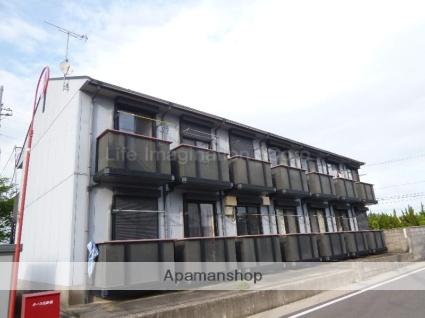 滋賀県甲賀市、水口駅徒歩22分の築20年 2階建の賃貸アパート