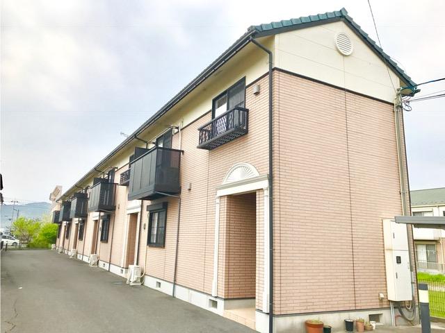 滋賀県東近江市、能登川駅徒歩60分の築21年 2階建の賃貸テラスハウス