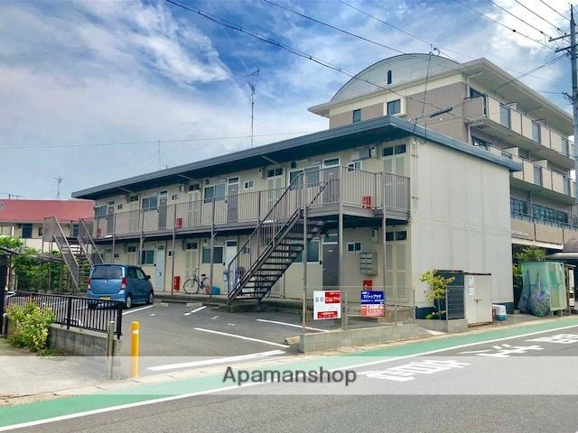 滋賀県野洲市、篠原駅徒歩41分の築39年 2階建の賃貸アパート