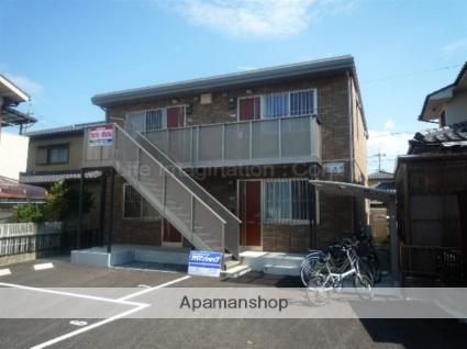 滋賀県東近江市、稲枝駅徒歩52分の築7年 2階建の賃貸アパート