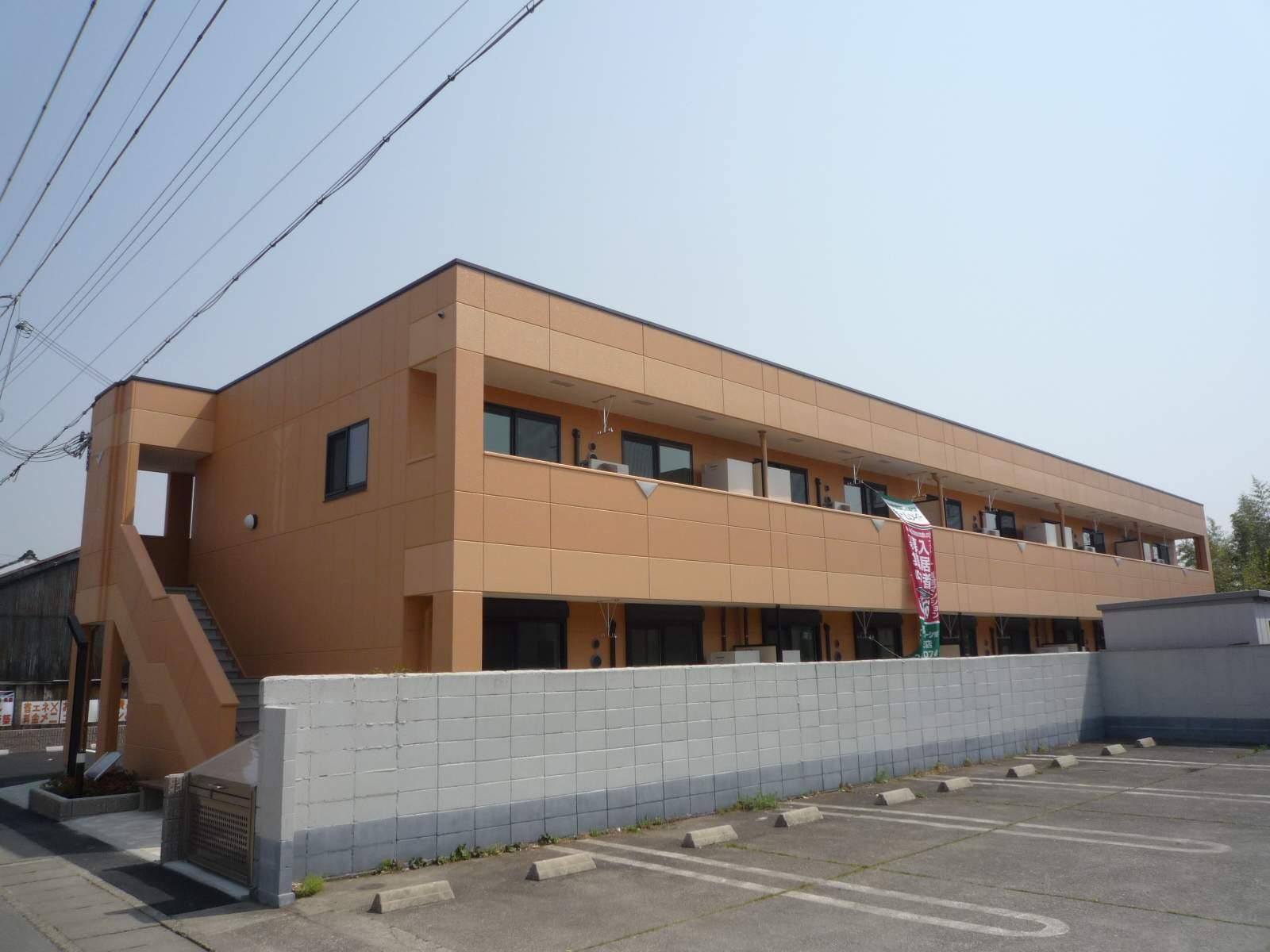 滋賀県東近江市、八日市駅徒歩10分の築7年 2階建の賃貸アパート