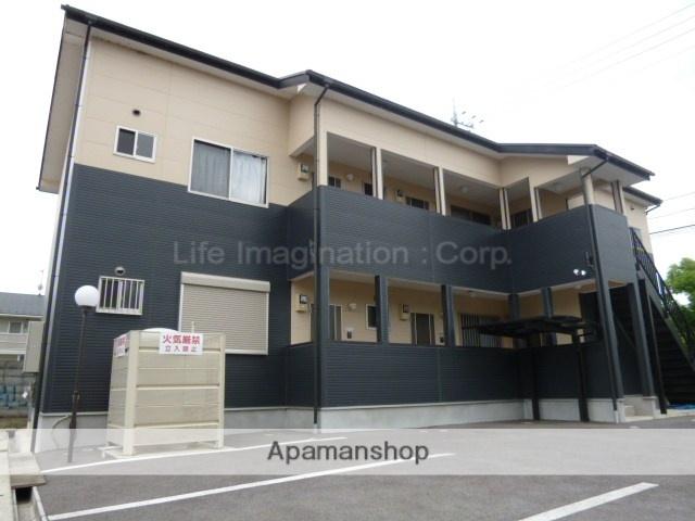 滋賀県近江八幡市、安土駅徒歩49分の築7年 2階建の賃貸アパート