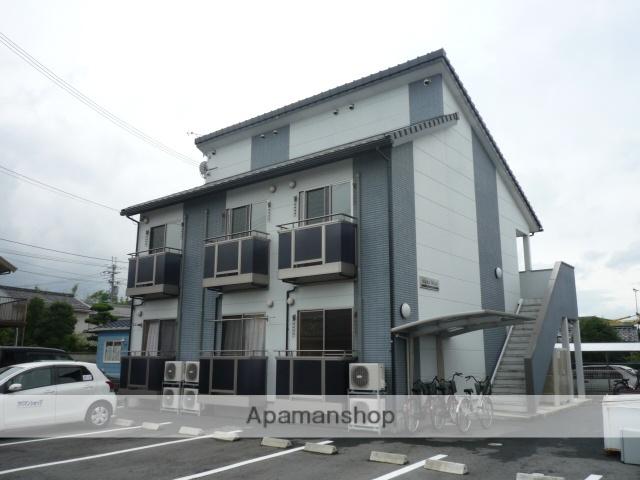 滋賀県甲賀市、貴生川駅はーとバスバス13分田中道停下車後徒歩1分の築9年 2階建の賃貸アパート