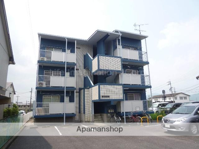 滋賀県甲賀市、水口駅徒歩22分の築27年 3階建の賃貸マンション