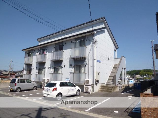 滋賀県甲賀市、甲南駅徒歩38分の築10年 2階建の賃貸アパート