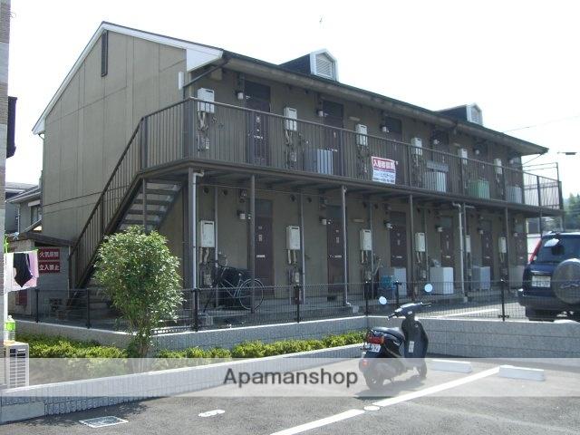 滋賀県湖南市、三雲駅徒歩14分の築25年 2階建の賃貸アパート