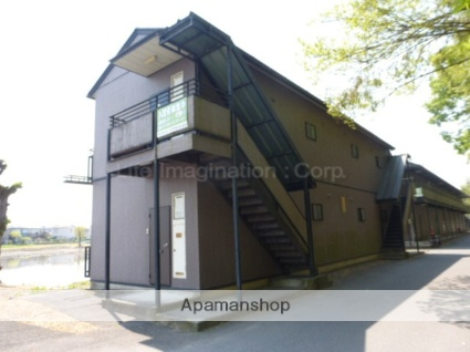 滋賀県愛知郡愛荘町の築15年 2階建の賃貸アパート