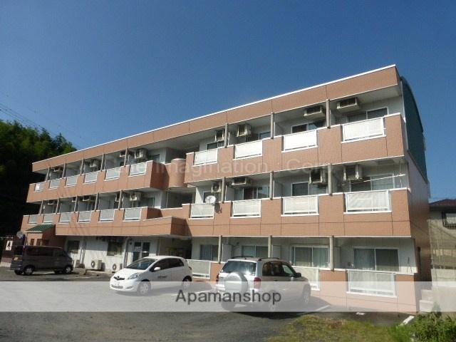 滋賀県甲賀市、水口駅徒歩3分の築22年 3階建の賃貸マンション
