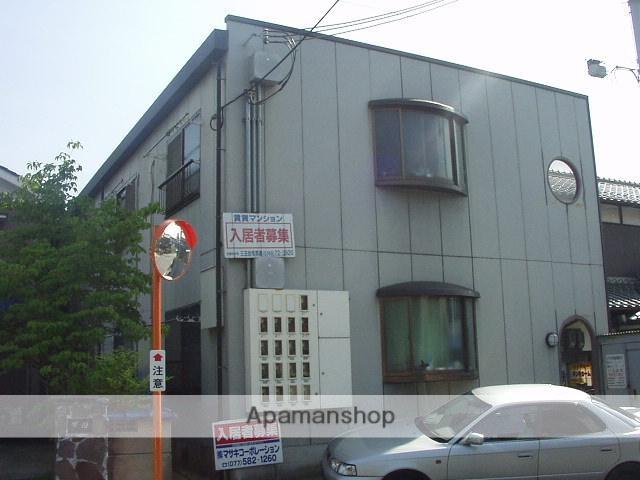 滋賀県湖南市、三雲駅徒歩2分の築22年 2階建の賃貸マンション