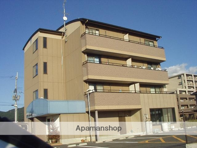 滋賀県湖南市、三雲駅徒歩53分の築17年 4階建の賃貸マンション
