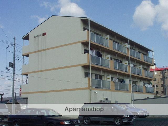 滋賀県湖南市、三雲駅徒歩15分の築19年 4階建の賃貸マンション
