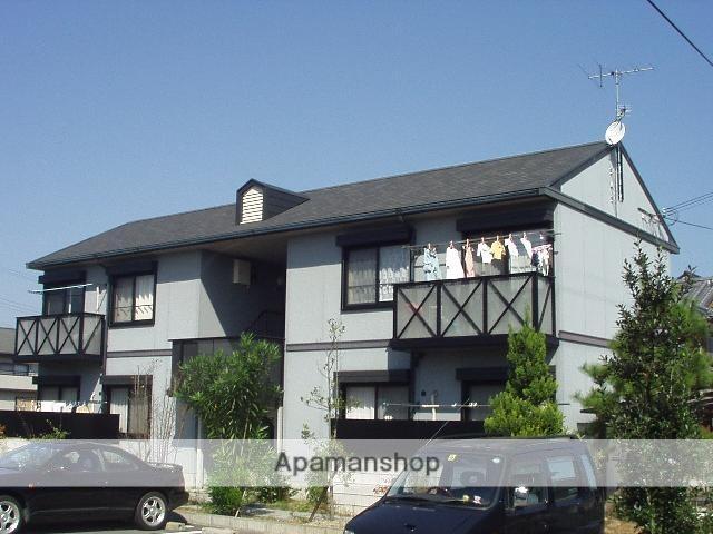 滋賀県甲賀市、甲南駅徒歩15分の築21年 2階建の賃貸アパート