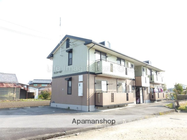 滋賀県蒲生郡日野町、朝日野駅徒歩37分の築18年 2階建の賃貸アパート