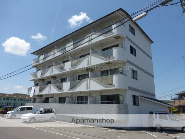 滋賀県東近江市、八日市駅徒歩10分の築23年 4階建の賃貸マンション
