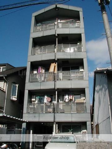 滋賀県大津市、膳所駅徒歩42分の築25年 5階建の賃貸マンション