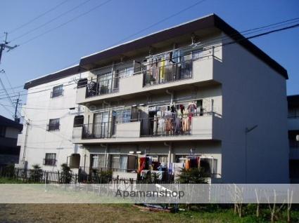 滋賀県大津市、追分駅徒歩2分の築40年 3階建の賃貸マンション