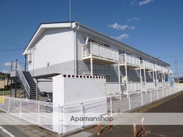 滋賀県高島市、新旭駅徒歩6分の築20年 2階建の賃貸アパート