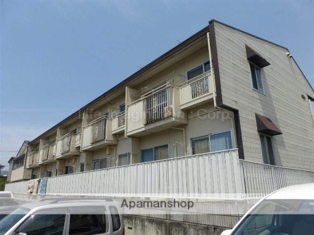 滋賀県大津市、堅田駅徒歩15分の築23年 2階建の賃貸アパート