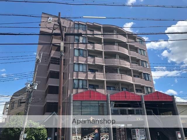 滋賀県大津市、南草津駅徒歩39分の築27年 8階建の賃貸マンション