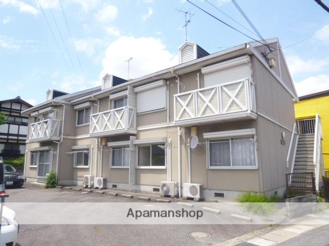 滋賀県大津市、南草津駅徒歩55分の築25年 2階建の賃貸アパート