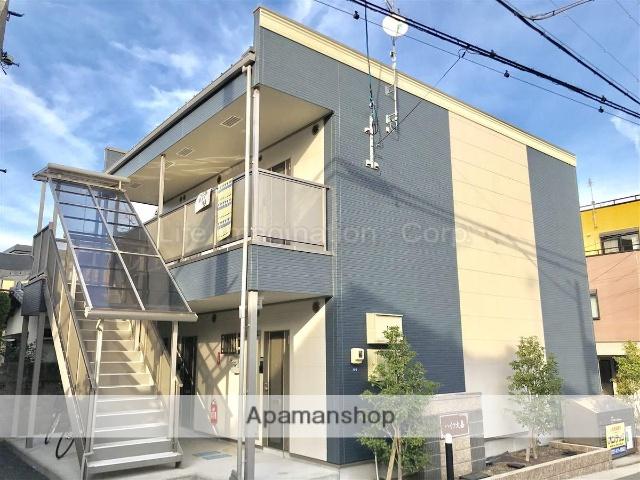 滋賀県大津市、大津京駅徒歩22分の築2年 2階建の賃貸アパート