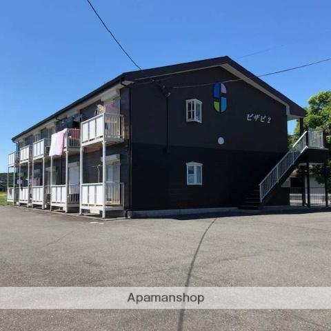 滋賀県高島市、安曇川駅徒歩10分の築19年 2階建の賃貸アパート