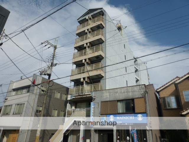 滋賀県大津市、膳所駅徒歩26分の築25年 7階建の賃貸マンション