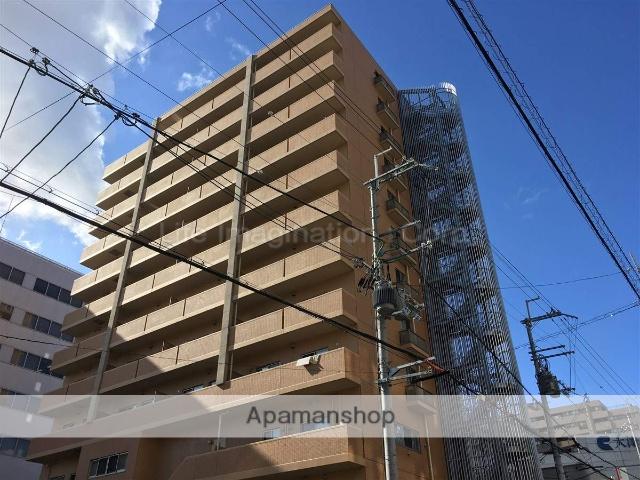 滋賀県大津市、大津駅徒歩12分の築2年 12階建の賃貸マンション